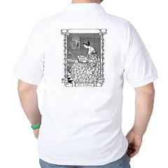 Reading Woman (Renaissance) Golf Shirt