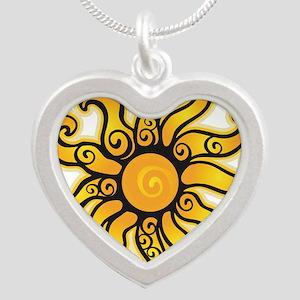 Swirly Sun Necklaces