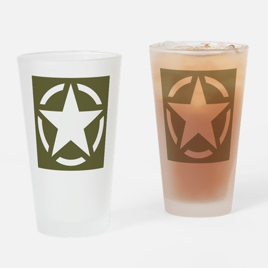 Cute Military wwii Drinking Glass