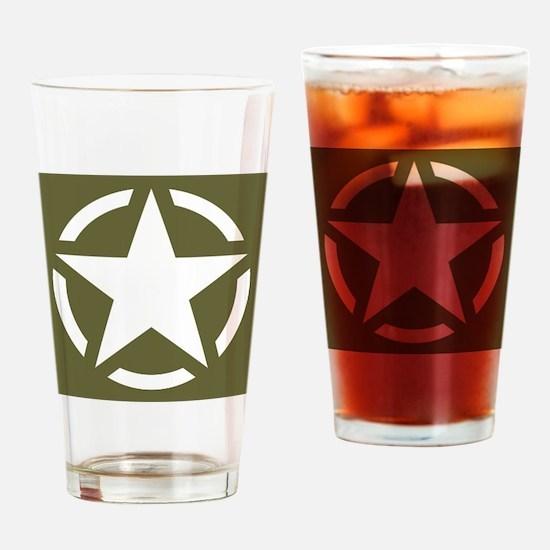Cute Wwii Drinking Glass