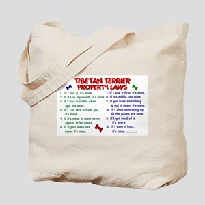 Tibetan Terrier Property Laws 2 Tote Bag