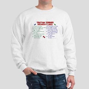 Tibetan Terrier Property Laws 2 Sweatshirt