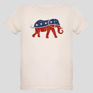 76574e32fdd106 Republican Elephant Organic Kids T-Shirts - CafePress