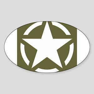 WW2 American star Sticker