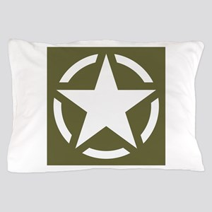 WW2 American star Pillow Case