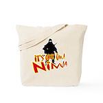 Ninja tshirts Tote Bag