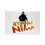 Ninja tshirts Rectangle Magnet (10 pack)