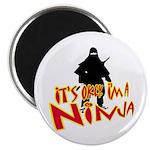 Ninja tshirts Magnet