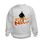 Ninja tshirts Kids Sweatshirt