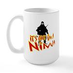 Ninja tshirts Large Mug