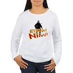 Ninja tshirts Women's Long Sleeve T-Shirt