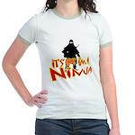 Ninja tshirts Jr. Ringer T-Shirt