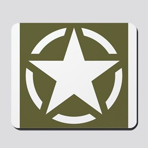 WW2 American star Mousepad