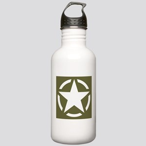 WW2 American star Stainless Water Bottle 1.0L