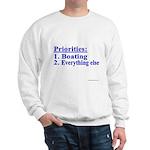 Boater's Priorities Sweatshirt