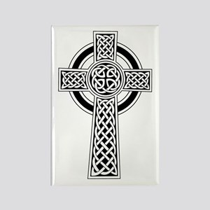 Celtic Knot Cross Rectangle Magnet