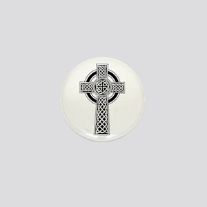 Celtic Knot Cross Mini Button