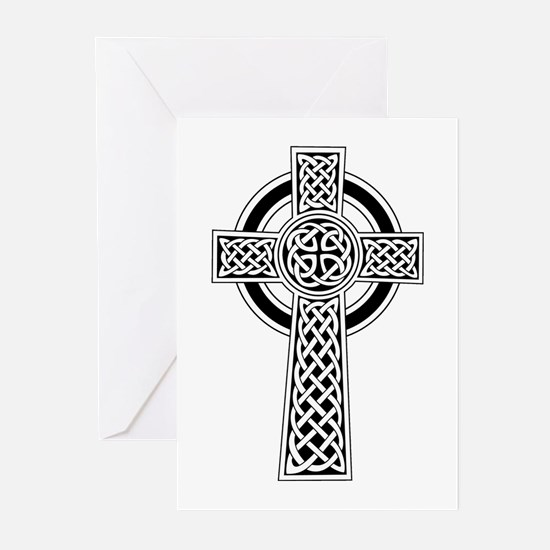 Celtic Knot Cross Greeting Cards (Pk of 10)