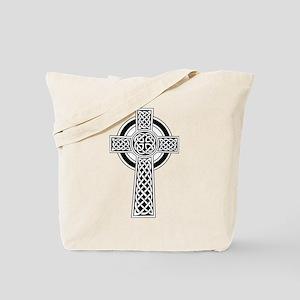 Celtic Knot Cross Tote Bag