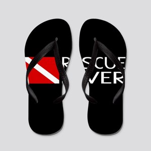 Diving: Diver Flag & Rescue Diver Flip Flops