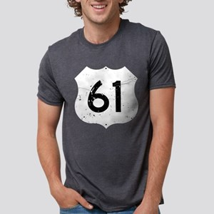 Route 61 Sign Distressed T-Shirt