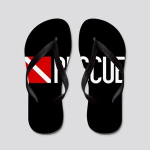 Diving: Diving Flag & Rescue Flip Flops