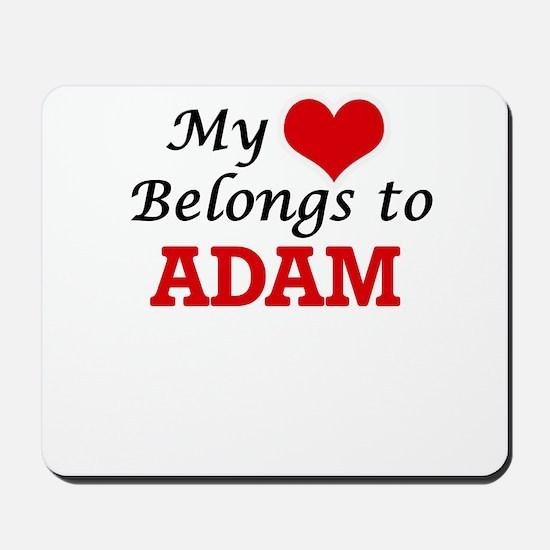 My heart belongs to Adam Mousepad