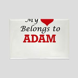 My heart belongs to Adam Magnets