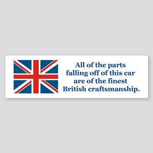 British Car Bumper Sticker