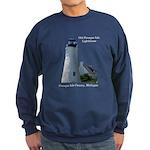 Old Presque Isle Lighthouse Sweatshirt (dark)