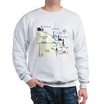 Northeast Michigan Lighthouses Sweatshirt