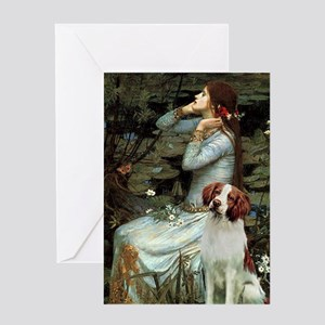 Ophelia /Brittany S Greeting Card