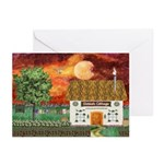 Sunset Cottage Cards (Pk of 10)