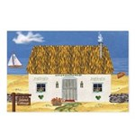 Island Cottage Postcards (Package of 8)