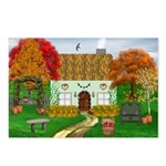 Autumn Cottage Postcards (Package of 8)