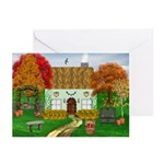 Autumn Cottage Greeting Cards (Pk of 20)