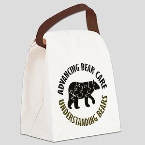 Understanding Bears Canvas Lunch Bag