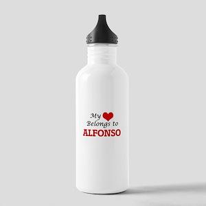 My heart belongs to Al Stainless Water Bottle 1.0L