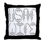 USAF Wife  Throw Pillow