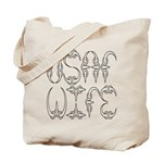 USAF Wife  Tote Bag