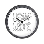 USAF Wife Wall Clock