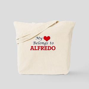 My heart belongs to Alfredo Tote Bag