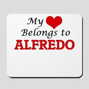 My heart belongs to Alfredo Mousepad