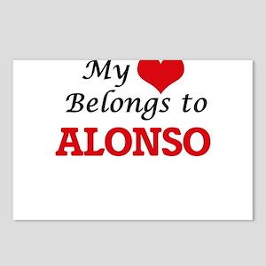 My heart belongs to Alons Postcards (Package of 8)