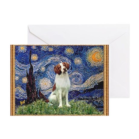 Starry / Brittany S Greeting Cards (Pk of 10)