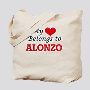 My heart belongs to Alonzo Tote Bag