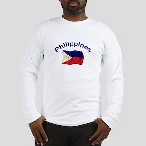 Philippines Flag Long Sleeve T-Shirt