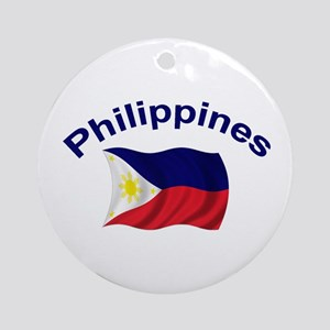 Philippines Flag Keepsake Ornament
