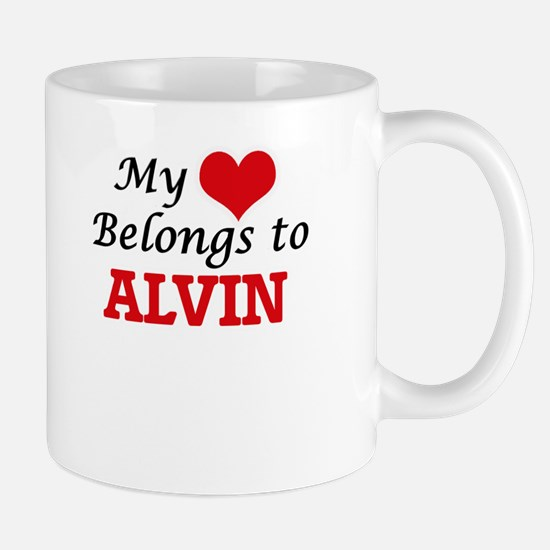 My heart belongs to Alvin Mugs