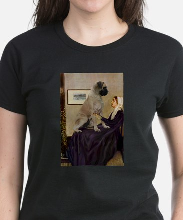 Whistler's / Bullmastiff Women's Dark T-Shirt
